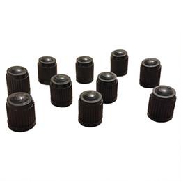 Wholesale car tire valve replacement - Set of 100 Black Plastic Replacement Valve Caps. Cars Trucks Motorcycles ATV. Schrader Tire Caps.