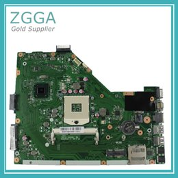 Wholesale laptop intel mainboard - Original For Asus X55A Intel Laptop Motherboard s989 HM70 Mainboard 60-NBHMB1100-E05