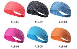 cappelli di inverno bella ragazza Sconti Cheap price di alta qualità Sweat Wicking Stretchy Athletic Bandana Foulard Yoga Headband Head Wrap Il meglio per lo sport