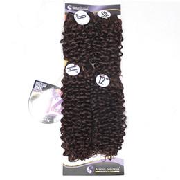 14-zoll-gewebe-curl Rabatt Haarbündel 8 8 10 12 14 Zoll 5 Stück / Pack Jerry Curl Synthetische Haarwebart Extensions