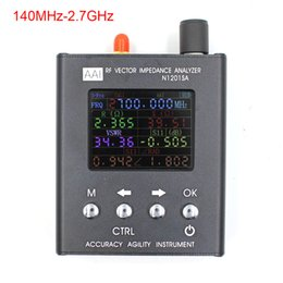 Wholesale uv tester - English verison N1201SA UV RF Vector Impedance ANT SWR Antenna Analyzer Meter Tester 140MHz - 2.7GHz resistance impedance SWR