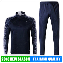 Wholesale New Summer Outfits - 2018 Training KITS Outfits WORLD Tracksuits JERSEY FRENCH ShirtS GRIEZMANN GIROUD POGBA VARANE Benzema CUP shorts NEW summer