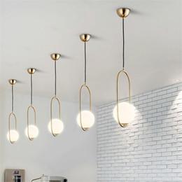 2019 24 zoll rundes glas Moderne led glas kronleuchter beleuchtung loft pendelleuchten esszimmer wohnzimmer cafe schlafzimmer glaskugel hängen lampe dekor leuchten