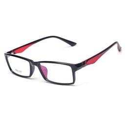 07667224cad2c 2019 óculos pretos Vazrobe TR90 Óculos Homens Mulheres Quadrados Armações  de Óculos para Homem Dioptria Prescription