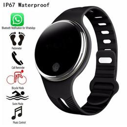 firefox телефоны Скидка Горячие продажи E07 водонепроницаемый спортивный браслет смарт-часы шагомер фитнес-трекер Smartband вызова напоминание для Android IOS телефонов 10 шт. / лот