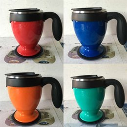 Wholesale Magic Colours - Car Cups Sucker Stainless Steel Colour Do Not Pour Cup Comfortable Feeling Mugs Magic Tumbler Hot Sale 30xc V