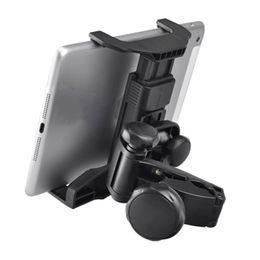 Car Holder Tablet Asiento trasero Soporte universal 360 Cabezal giratorio Almohada Soporte Micrófono Tabletas Soporte para PC para iPad Air Mini desde fabricantes