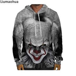02f7ae7c5016f Clown Back Spirit Sweat à capuche imprimé 3D pour hommes d'hiver en vrac  chaud sport pullover Harajuku Topr Harajuk
