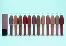 NOUVEAU Maquillage Mat rouge à lèvres cosmétiques Selena Christmas édition limitée bullet lipstick 12 couleurs Nom anglais DHL livraison gratuite + CADEAU ? partir de fabricateur