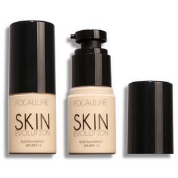 Maquillaje chino online-Focallure productos chinos maquillaje 8 color base líquida corrector hidratante crema duradera hidratante maquillaje desnudo FA30