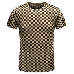 6f0382f6784dd 2019 hot Wholesale clothing G  G Men s T-Shirts Full screen tiger printing  hip hop clothing mens designer shirts plus size blue Khaki 120
