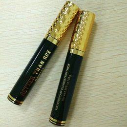Wholesale best selling mascara - 10 g Best Selling Cool Black better than sex Volume mascara thick waterproof mascara free shipping