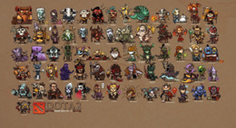 dota figures Coupons - Dota 2 Game Digital Art Silk Poster 20x30 24x36 24x43