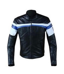 Wholesale Pu Leather Xxl Women - Free Shipping PU leather motorcycle protection jacket Men's moto jacket with 5 sets of removable protective equipment drg