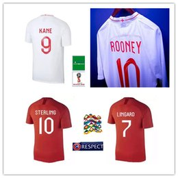 1b8d168d71a 2018 ROONEY KANE DELE ALLI world cup soccer jerseys 18 19 RASHFORD VARDY  jersey LINGARD STERLING STURRIDGE football shirt