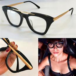 ce3d1c6d1fe 2019 lunettes de chat en gros Gros nouveau designer de mode optique lunettes  0575 chat oeil