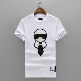 Mode luxe Marque tag hommes T-shirt Designer sens commun Été rouge bande verte lettre imprimer tshirt Runway Casual Top # 70 ? partir de fabricateur