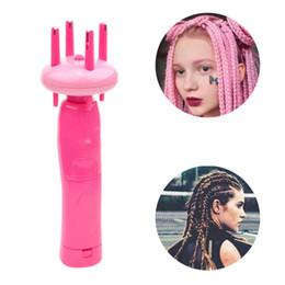 Electrónico Automático DIY Herramienta de Moda de Peinado Herramienta de Trenza de la Armadura del Pelo Roller Twist Braider Dispositivo Kit Gadget Para Las Mujeres desde fabricantes