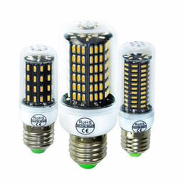 Canada Nouvelle lampe LED de haute qualité SMD4014 Plus lumineux ampoule à courant constant E27 LED Smart IC 38W 55W 78W 88W 140W LED lumière de maïs AC 220V sans scintillement Offre
