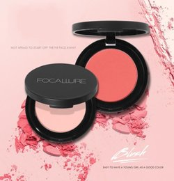 Wholesale nature soft - FOCALLURE Blush Beauty Makeup 11 Colors Cheek Blushes Powder Soft Nature Rouge Glossy Soft Smooth Mineralize Face Blush