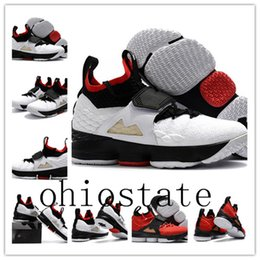Wholesale Boys Shoes Size 12 New - With box 2018 new LeBron 15 Diamond Turf Basketball Shoes men James 15 Diamond Turf Baby Kids Maternity Baby First Walkers size 7-12