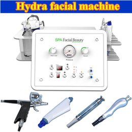 Wholesale diamond microdermabrasion portable machine - Portable hydra facial equipment diamond microdermabrasion water peel machine oxygen therapy home equipment bio lifting diamond