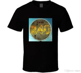 2019 крутые юбилейные подарки Rush R40 Live 40th Anniversary Черная футболка Размер S - 3XL Подарок Новинка от USHipster Прохладный топ с круглым вырезом дешево крутые юбилейные подарки
