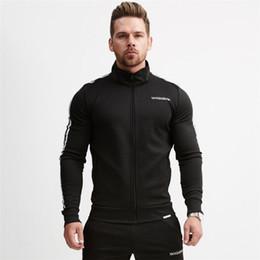 Hoodies de Fitness dos homens Crossfit Pullover Zipper Jacket Camisolas Musculação Sportswear Moda Hoodies de Fornecedores de hoodie do tigre do bape