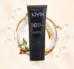 Wholesale firming creams - Hot !!High Quality NYX HD Studio Photogenic Primer Base Face Foundation BB Cream NYX Primer Concealer 6 Colors