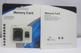 Wholesale 128gb Memory Card - 75pcs 2018 256GB 128GB 64GB 32GB TF memory card With Adapter Blister Generic Retail Package