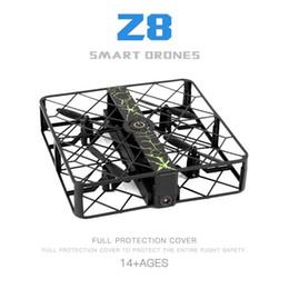 Wholesale Ufo Wifi Camera - Z8 RC Mini UFO Quadcopter Drone with Wifi Camera 2.4G 4CH 6 Axis Headless Mode Remote Control Nano Quadcopter Mini RC Drone Toy