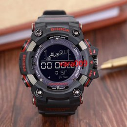 relojes analógicos de gran deporte Rebajas GST Reloj deportivo Hombre analógico Digital Militar Michael G Ejército LED Relojes de pulsera Big band Men GA Relogio masculino SHOCKED 100 dropshipping