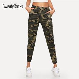 Pantalones Distribuidores De Mujeres Las Descuento Camuflaje qZaxB40