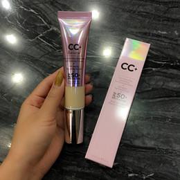 luz Desconto 2018 marca de maquiagem estoque CC Light Médio sob os olhos cobertura completa corretivo à prova d'água fundação primer