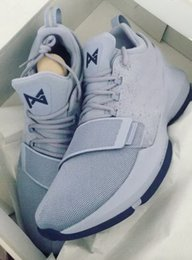 Wholesale Usa Patents - New Men Paul George PG 1 GS Score In Bunches Purple Basketball Shoes Adult PG1 University Red Team USA Ferocity Shining Sport Sneakers