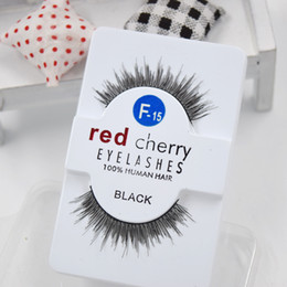 Canada Usine directement 27 styles RED CHERRY Faux Cils Naturels Long Eye Cils Extension Maquillage Professionnel Faux Cils Winged Faux Cils Offre