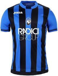 Argentina Nuevo 18 19 camiseta de fútbol Atalanta BC Atalanta VALZANIA FREULER GOMEZ DUVAN ILICIC 2018 2019 camisetas de fútbol de local cheap atalanta jersey Suministro