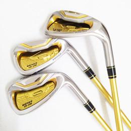 2019 golfe honma New Golf ferros HONMA S-06 4 estrelas ferros clubes 4-11. AW, Sw clubes de Golfe grafite Golf eixo R ou S flex Frete grátis golfe honma barato