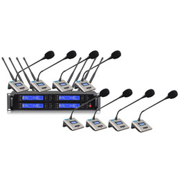 konferenzen mikrofon Rabatt Bolymic Professional Funkmikrofon 8 Kanäle Schwanenhals Konferenzmikrofon
