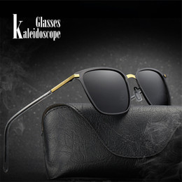 a1a73ea1ef6 Polarized Sunglasses Men Famous Brand Designer Outdoor Driving Sun Glasses  Male Ultra light Frame Glasses