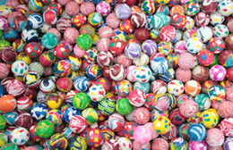 Wholesale variety toys wholesale - Color elastic ball bouncing ball solid bouncy ball children's toyvariety of specifications variety of styles 32MM