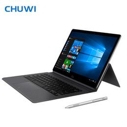Teclado de caneta on-line-Chuwi CoreBook CWI542 2 em 1 Tablet PC com Teclado Stylus Pen 13.3 polegada Dual Core 2.4GHz 8 GB 128 GB Câmeras Duplas