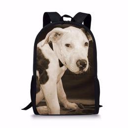 5ce473fb2 NOISYDESIGNS Impermeables Satchel Kids Lápiz Bolsas escolares Bull Terrier niños  mochilas escolares para adolescentes niños niñas mochila escolar bolsas de  ...