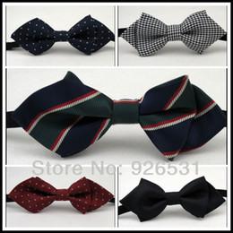 Wholesale Corner Fabric - Children bow tie Sharp corners han edition boy style  polyester fabrics, a variety of optional children's neck accessories