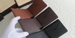 Wholesale Zipper Top Korean - Promotion new mens leather top Wallet Men 2018 Brand Coin Wallet Small Clutches Men's Purse Coin Pouch Short Men Wallet
