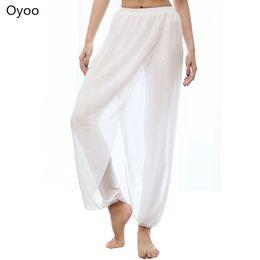 2019 il ballo bianco di yoga ansima Pantaloni di yoga di yoga di pantaloni a vita bassa di elastico solido nero elastico di pantaloni a vita bassa della cinghia di Oyoo carino bianco il ballo bianco di yoga ansima economici