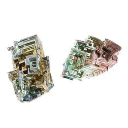 Energía mineral online-20g cristales de mineral de bismuto arco iris natural de calidad superior puro mineral de metal espécimen reiki energía curativa mineral