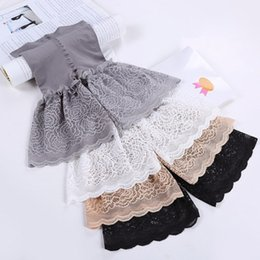 Unique Cozy Women s Briefs Knickers Safety Lace Short Pants Invisible  Seamless Tight Shorts Panties faf5e3654