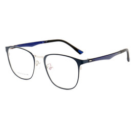 El marco al por mayor de las gafas ópticas de la nueva hoja de acero del punto de Sunny se puede equipar con las gafas del juego de computadora de la miopía Blu-ray desde fabricantes