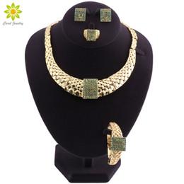 cuentas de la boda de nigeria verde Rebajas Sistemas de la joyería para las mujeres que se casan los granos africanos nupciales de Dubai de la joyería fijan la joyería cristalina del grano de Nigerian verde
